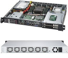 SYS-1019P-FHN2T - 1U - Server Barebone
