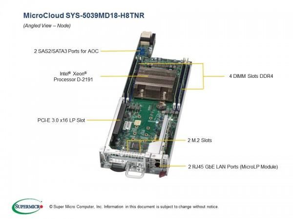 SYS-5039MD18-H8TNR - Node