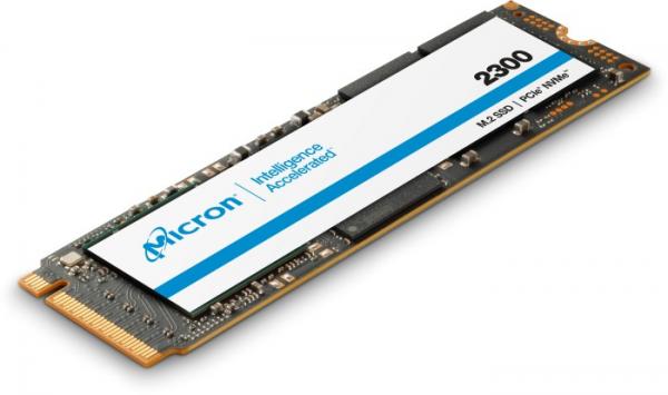 Micron 2300 256GB NVMe PCIe 3.0x4 TLC M.2 22x80mm,<1DWPD