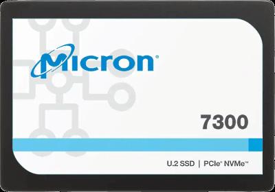 Micron 7300 PRO 1.92TB NVMePCIe 3.0 3D TLC U.2 7mm 1DWPD