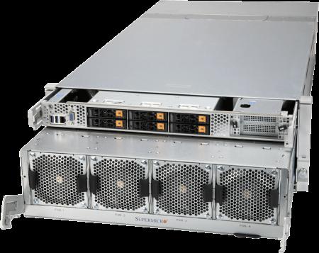 SYS-4124GO-NART - 4U - NVIDIA HGX 8x 80GB A100 - A+ Server