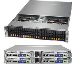 SYS-2029BT-HNC0R - 2U 4 Nodes - Server Barebone