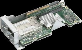 AOM-CTG-I2SM-12 [NR] MicroLP Mocule 2-port 10GbE SFP+Intel 82599ES