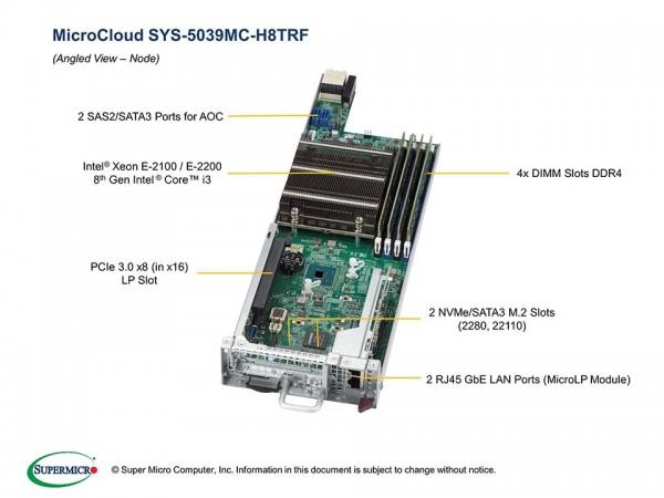 SYS-5039MC-H8TRF - Node