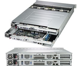 SSG-2029P-DN2R24L - 2U 2 Nodes -Server Barebone