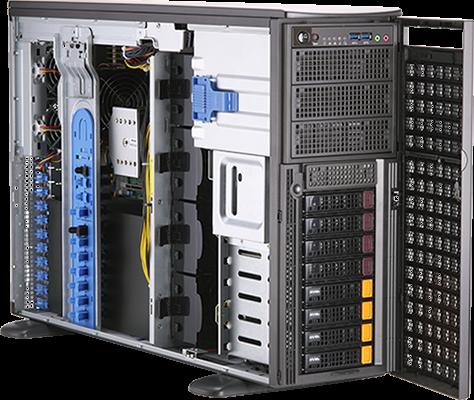 SYS-740GP-TNRT - 4U - GPU Server