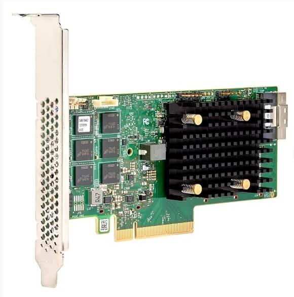 Broadcom MegaRAID 9560-8i - 12Gb/s SAS-3 / NVMe, x8 lane PCIe 4.0