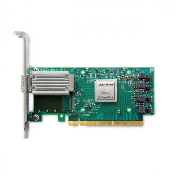 MCX515A-CCAT - ConnectX®-5 EN network interface card, 100GbE single-port QSFP28