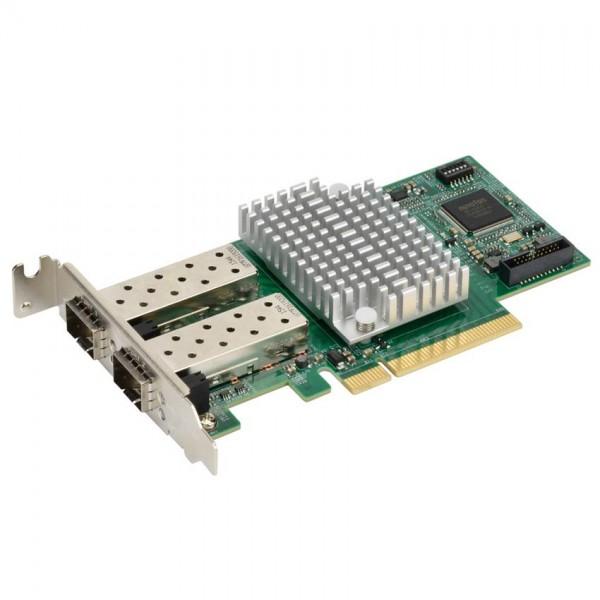 AOC-STGF-I2S Std LP 2-port 10G SFP+, Intel X710