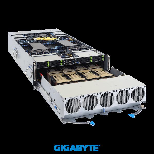 SYS-G492-ZD0 - 4U DP SXM4 A100 8-GPU 80GB Server