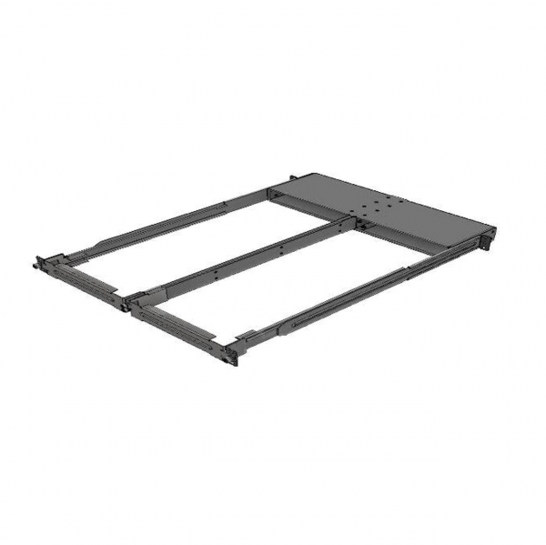 """NVIDIA 19"""" Rack Fixed Mounting Kit for SN2100/SN2010 Systems Dual Switch Side-by-Side Short Depth"""