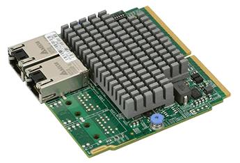 AOC-MTG-i2T SIOM, 2x 10Gbase-T, Intel X550 (for Twin Systems)