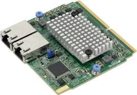 AOC-MTG-B2TM Dual-port 10GbE RJ45 (10GBase-T) based on BCM57416, SIOM