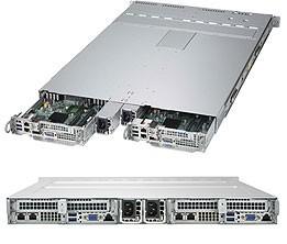 SYS-1029TP-DC0R - 1U 2 Nodes - Server Barbone