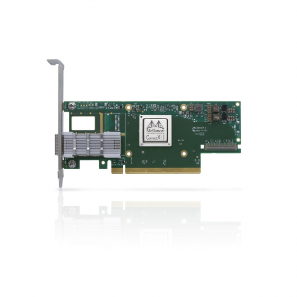 MCX653105A-HDAT-SP - ConnectX®-6 VPI adapter card, HDR IB (200Gb/s) and 200GbE, single-port QSFP56