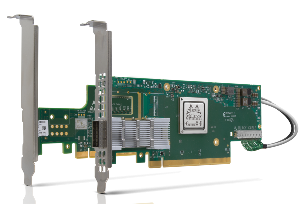 MCX654105A-HCAT CONNECTX®-6 VPI ADAPTER CARD, HDR IB (200GB/S) AND 200GBE, SINGLE-PORT QSFP56
