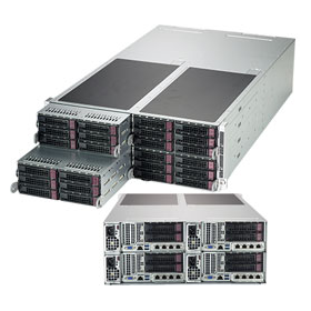 SYS-F629P3-RTB - 4U 4 Nodes -Server Barebone