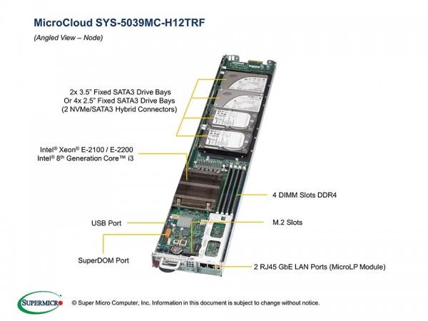 SYS-5039MC-H12TRF - Node