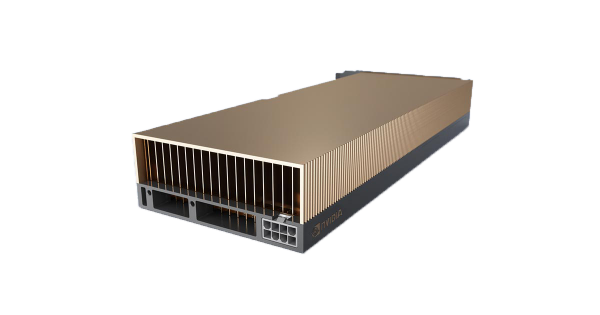 NVIDIA A40, 48GB GDDR6 ECC, 300W, PCI-E Gen4, 3x DP 1.4 - Passive