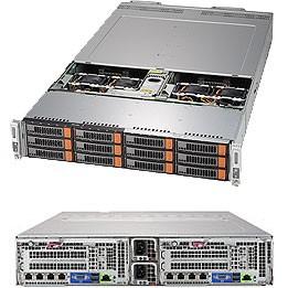 SYS-6029BT-DNC0R - 2U 2 Nodes - BigTwin Server Barebone