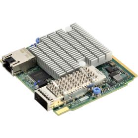 AOC-MHIBE-M1CGM Infiniband EDR 100Gbps/Intel® i210, SIOM