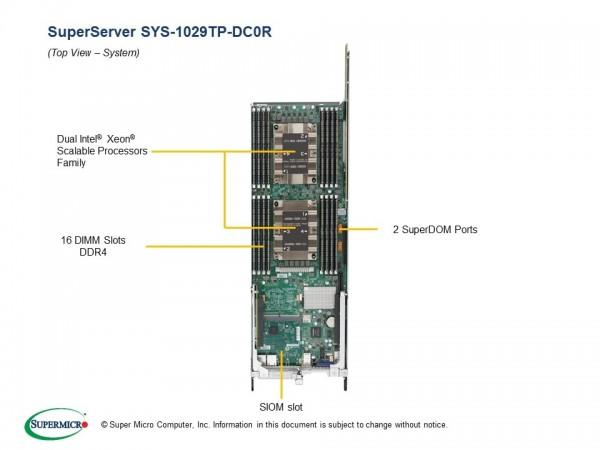 SYS-1029TP-DC0R - Node