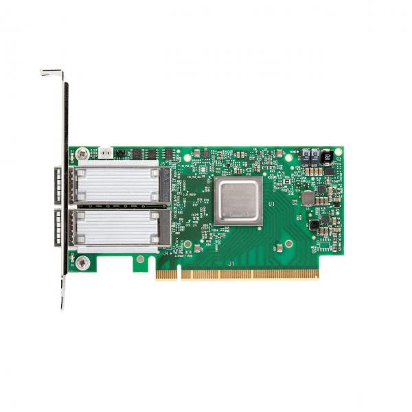 MCX516A-CCAT - ConnectX®-5 EN network interface card, 100GbE dual-port QSFP28