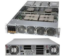 SYS-2124GQ-NART - 2U - NVIDIA HGX 4x 80GB A100 Server