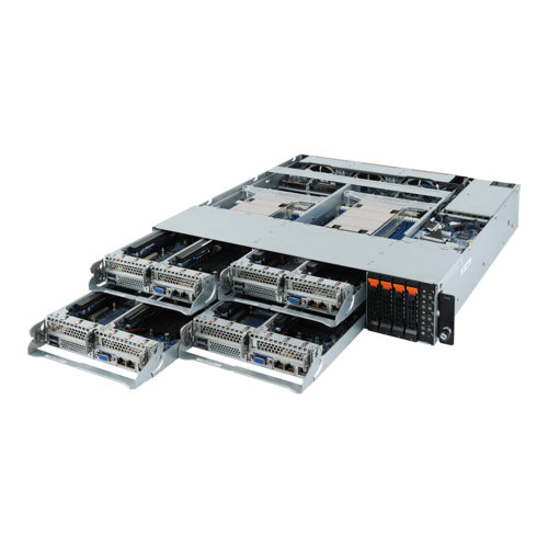 SYS-H242-Z11 - 2U 4 Nodes - Server-Barebone