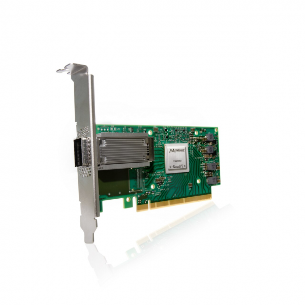 MCX555A-ECAT - ConnectX®-5 VPI adapter card, EDR IB (100Gb/s) and 100GbE, single-port QSFP28