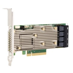 Broadcom MegaRAID 9460-16i - 12Gb/s SAS-3 / NVMe, x8 lane PCIe 3.1