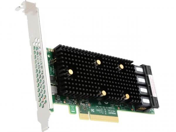 Broadcom HBA 9405W-16i Tri-Mode - SATA 6Gb/s / SAS 12Gb/s / PCIe 3.1 (NVMe)