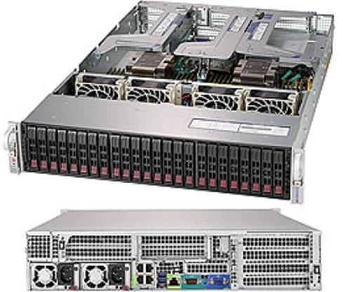 SYS-2029U-E1CR4 - 2U - Server Barebone