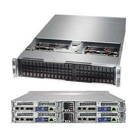 SYS-2029BT-HTR - 2U 4 Nodes - Server Barebone