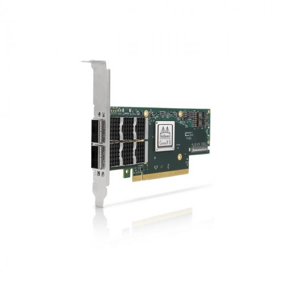 MCX653106A-ECAT-SP - ConnectX®-6 VPI adapter card, 100Gb/s, dual-port QSFP56