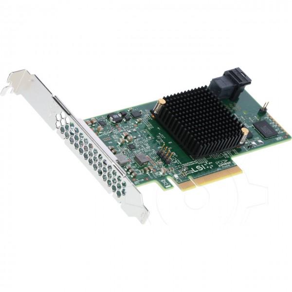 Broadcom HBA 9300-4i - SATA 6Gb/s / SAS 12Gb/s / PCIe 3.0 x8