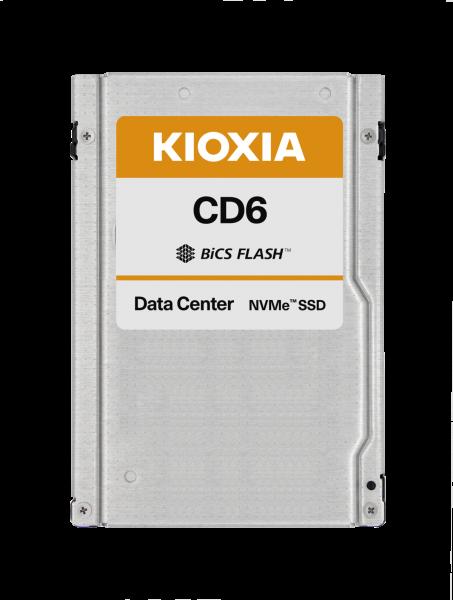 "Kioxia CD6 800GB NVMe PCIe 4x4 2.5"" 15mm 3DWPD"