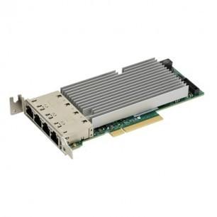 AOC-STG-I4T Std LP 4-port 10G RJ45, Intel XL710+ X557