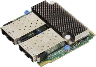 AOC-M25G-M4SM Quad-port 25GbE SFP28 based on Mellanox ConnectX-4, SIOM
