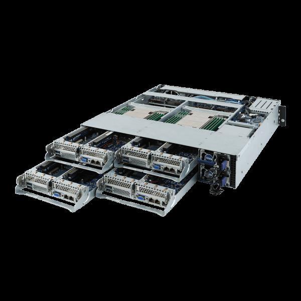 SYS-H242-Z10 - 2U 4 Nodes - Server-Barebone