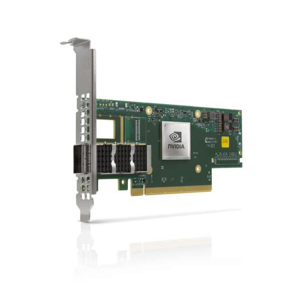 MCX653105A-ECAT-SP - ConnectX®-6 VPI adapter card, 100Gb/s, single-port QSFP56