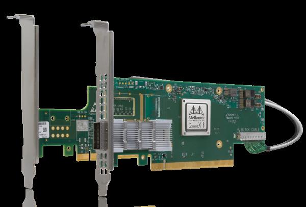 MCX614105A-VCAT - ConnectX®-6 EN adapter card kit, 200GbE, single-port QSFP56
