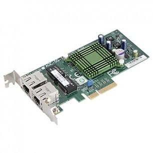 AOC-SGP-I2 Std LP 2-port GbE RJ45, Intel i350