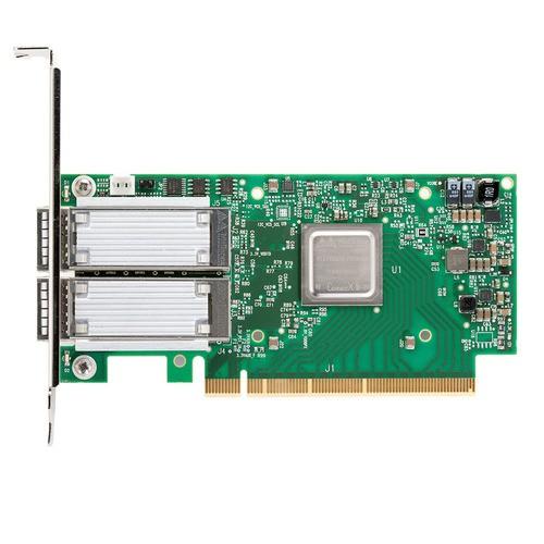 MCX516A-CDAT ConnectX®-5 Ex EN network interface card, 100GbE dual-port QSFP28
