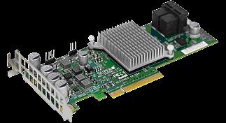 AOC-S3008L-L8I - 8 internal ports, low-profile, 12Gb/s per port- Gen-3, 63HDD - RAID 0,1,10