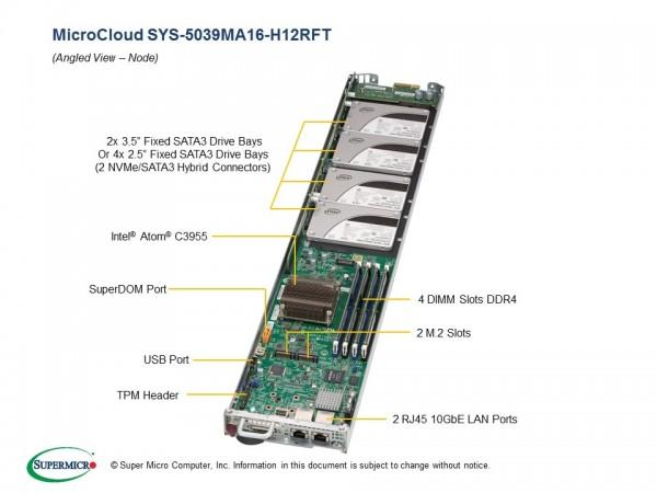 SYS-5039MA16-H12RFT - Node