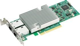 AOC-STG-i2T, 2x RJ-45, PCIe 2.1 x8