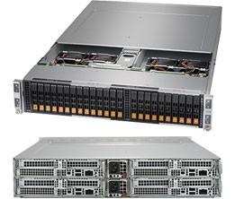 SYS-2123BT-HNR - 2U 4 Nodes - Server Barebone