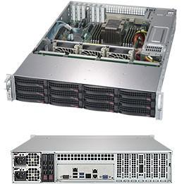 SSG-5029P-E1CTR12L - 2U - SuperStorage Server Barebone