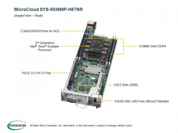 SYS-5039MP-H8TNR - Node